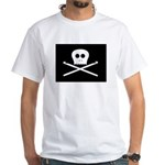 Craft Pirate Crochet White T-Shirt