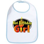 Hot Birthday Girl Bib