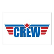 Aviation Crew Wings Postcards (Package of 8)