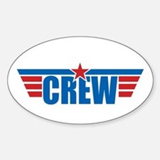 Aviation Crew Wings Decal