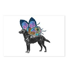 Butterfly Flatcoat Postcards (Package of 8)
