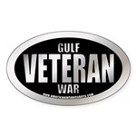Gulf War Veteran Oval Sticker