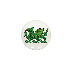 Midrealm Dragon Mini Button