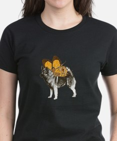 Butterfly Norwegian Elkhound Tee