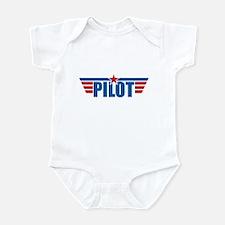 Pilot Aviation Wings Infant Bodysuit