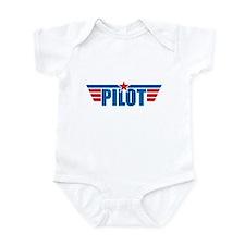 Pilot Aviation Wings Onesie