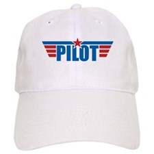 Pilot Aviation Wings Baseball Cap