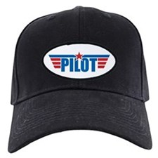 Pilot Aviation Wings Baseball Hat