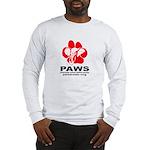 Paws Logo - Long Sleeve T-Shirt