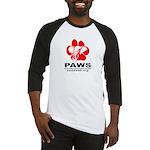 Paws Logo - Baseball Jersey