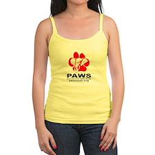 PAWS Logo Ladies Top