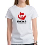 Paws Logo - Women's T-Shirt