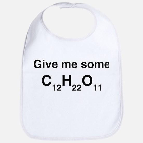 Chemistry Give Me Sugar Bib