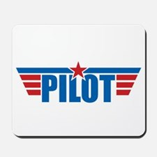 Pilot Aviation Wings Mousepad