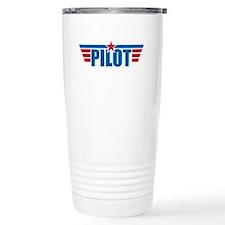 Pilot Aviation Wings Travel Mug