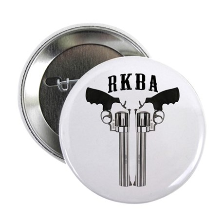"""RKBA Back To Back Revolvers 2.25"""" Button"""