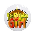 Birthday Girl Ornament (Round)