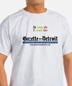 I read the Gazette T-Shirt (white or grey)
