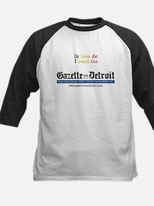 I read the Gazette Kids Baseball Jersey