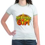 Birthday Girl Jr. Ringer T-Shirt