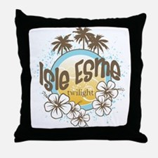 Twilight/Isle Esme Throw Pillow