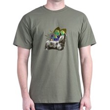 Butterfly Skye Terrier T-Shirt