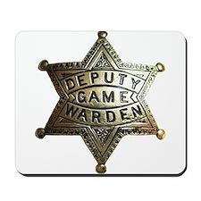 Deputy Game Warden Mousepad