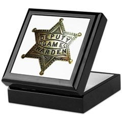Deputy Game Warden Keepsake Box