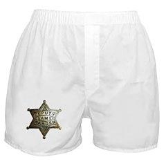 Deputy Game Warden Boxer Shorts