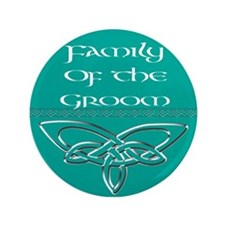 """Family Of The Groom 3.5"""" Button (100 pack)"""