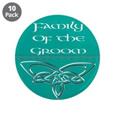 """Family Of The Groom 3.5"""" Button (10 pack)"""