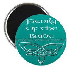 """Family Of The Bride 2.25"""" Magnet (100 pack)"""