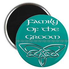 "Family Of The Groom 2.25"" Magnet (100 pack)"