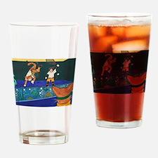 Tennis 2 V 1 Drinking Glass