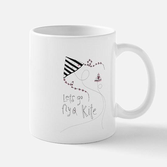 fly a kite copy Mugs