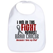 In The Fight DAD Brain Cancer Bib