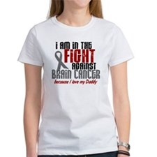 In The Fight DADDY Brain Cancer Tee