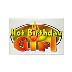 Birthday Girl Rectangle Magnet (10 pack)
