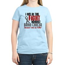 In The Fight FATHER Brain Cancer T-Shirt