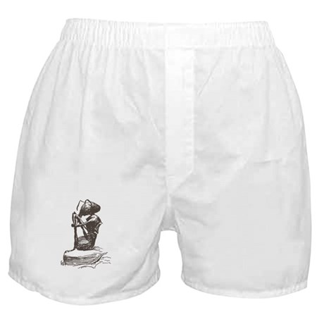 Contemplating Ant Boxer Shorts