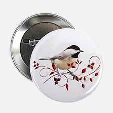"""Chickadee 2.25"""" Button"""