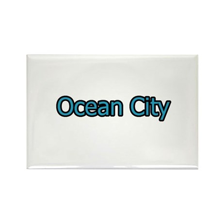 Ocean City Maryland Rectangle Magnet