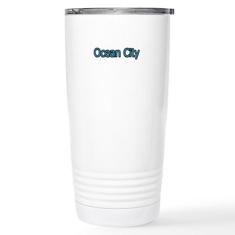 Ocean City Maryland Stainless Steel Travel Mug