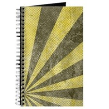 Sunburst Grunge Journal
