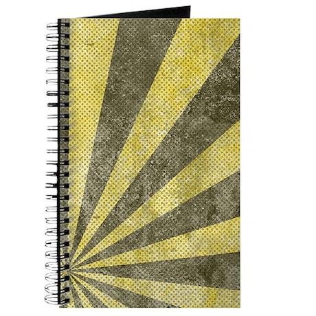 Sunburst Grunge Journal