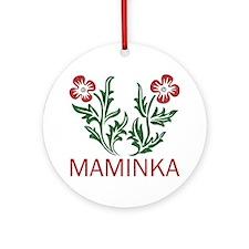 Maminka Ornament (Round)