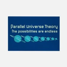 Parallel Universe Theory Rectangle Magnet (10 pack