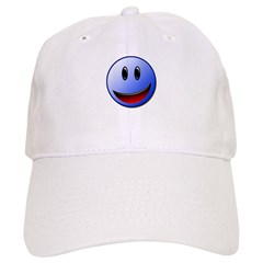 Blue smile Baseball Cap