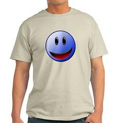 Blue smile T-Shirt