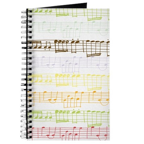 Music Note Journal